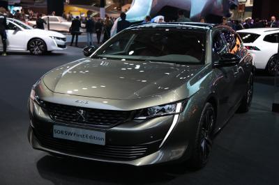 Peugeot 508 SW First Edition   nos photos depuis le Mondial de l'Auto 2018