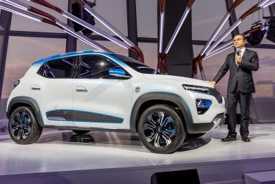 Renault K-ZE | les photos officielles du véhicule éléctrique