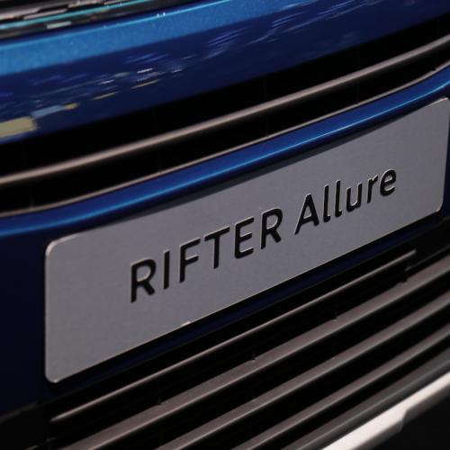 Peugeot Rifter Allure   nos photos depuis le Mondial de l'Auto 2018