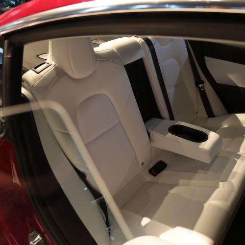 Tesla Model 3 | nos photos depuis le Mondial de l'Auto 2018