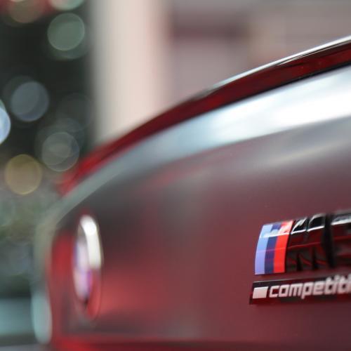 BMW M5 Competition | nos photos de la berline sportive depuis le Mondial de l'Auto 2018