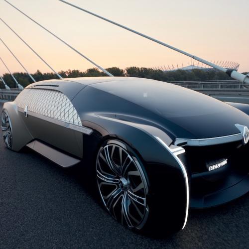 Renault EZ-ULTIMO | les photos officielles de la limousine autonome
