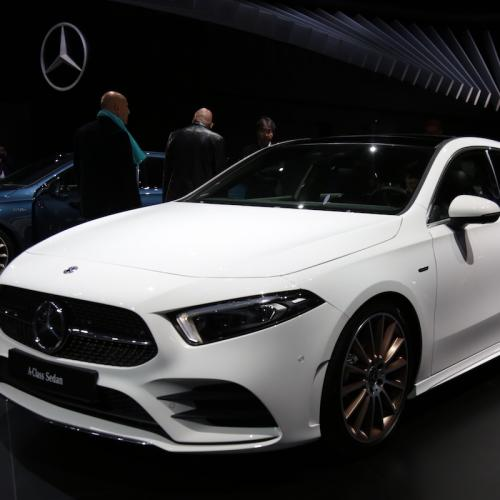 Mercedes Classe A Berline | nos photos depuis le Mondial de l'Auto 2018