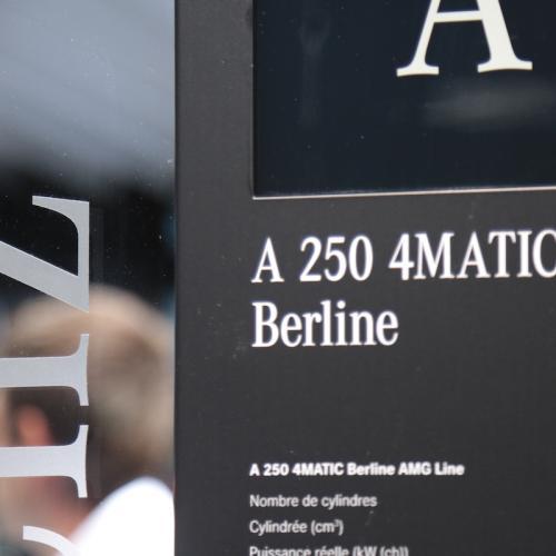 Mercedes Classe A 250 4MATIC Berline | nos photos depuis le Mondial de l'Auto 2018