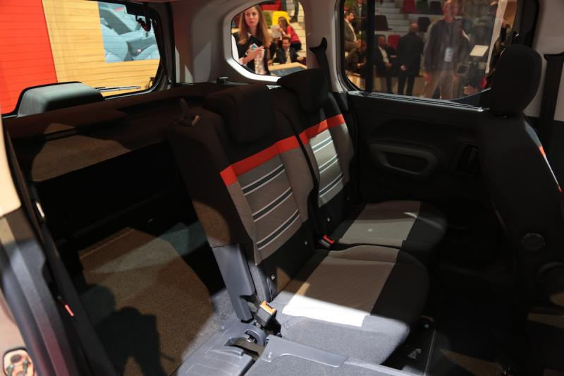 Citroen Berlingo | nos photos depuis le Mondial de l'Auto 2018