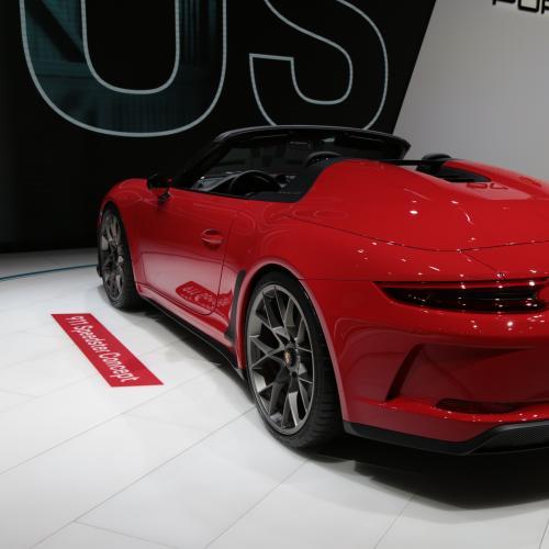 Porsche 911 Speedster   nos photos du concept depuis le Mondial de l'Auto 2018