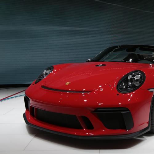 Porsche 911 Speedster | nos photos du concept depuis le Mondial de l'Auto 2018