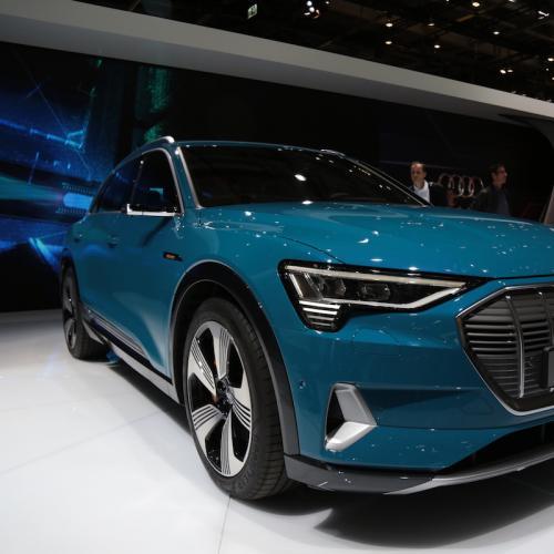 Audi e-tron | nos photos depuis le Mondial de l'Auto 2018