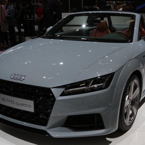 Audi TT restylée | nos photos depuis le Mondial de l'Auto 2018