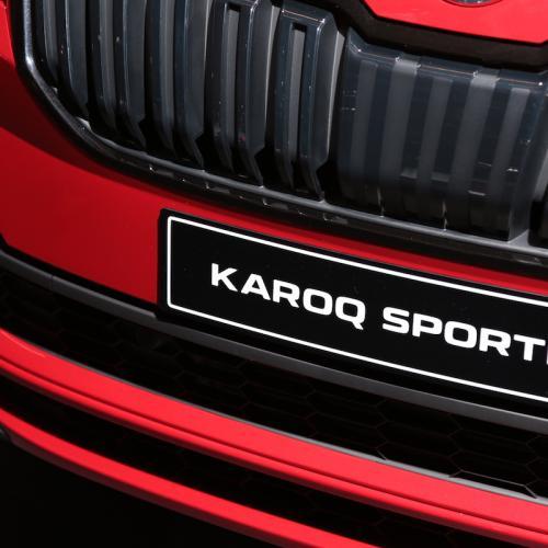 Skoda Karoq Sportline   nos photos depuis le Mondial de l'Auto 2018