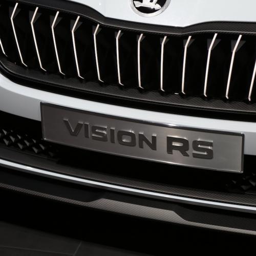 Skoda Vision RS | nos photos du concept depuis le Mondial de l'Auto 2018