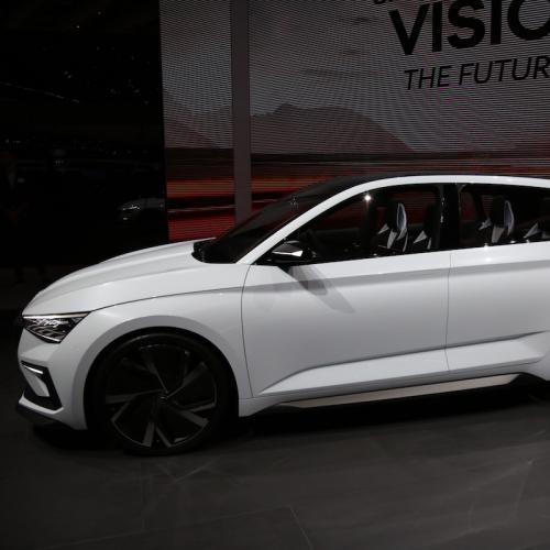 Skoda Vision RS   nos photos du concept depuis le Mondial de l'Auto 2018
