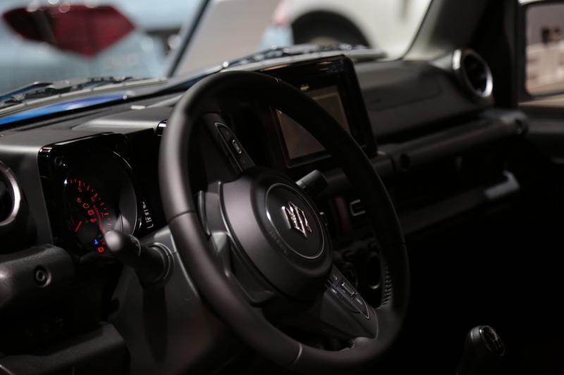 Suzuki Jimny   nos photos depuis le Mondial de l'Auto 2018
