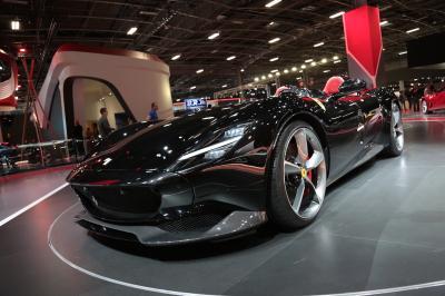 Ferrari Monza SP2 | nos photos depuis le Mondial de l'Auto 2018