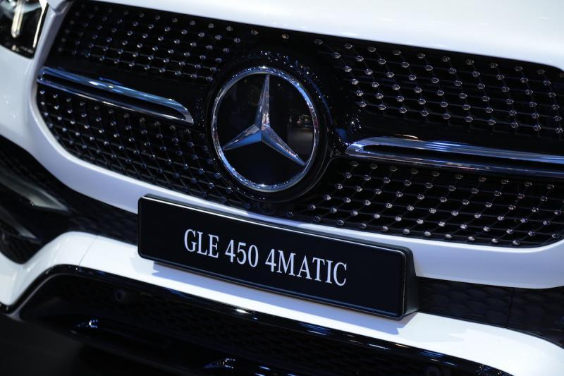 Mercedes GLE   nos photos depuis le Mondial de l'Auto 2018