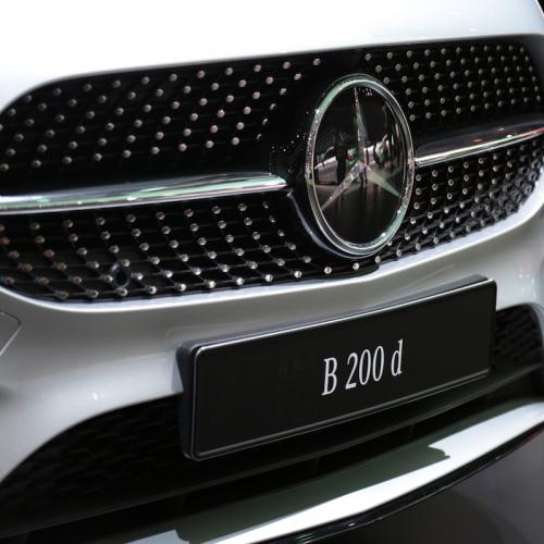 Mercedes Classe B   nos photos depuis le Mondial de l'Auto 2018