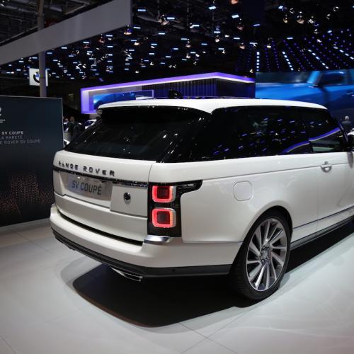 Range Rover SV Coupé | nos photos depuis le Mondial de l'Auto 2018