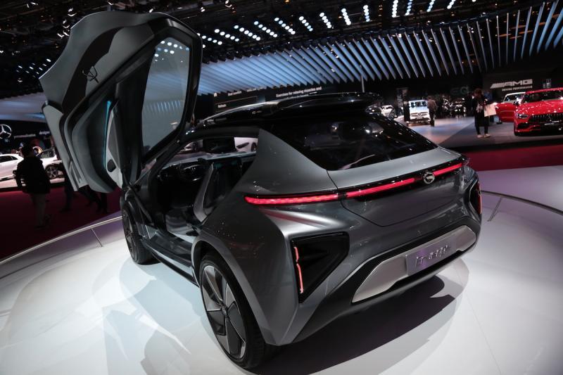 GAS Enverge Concept   nos photos depuis le Mondial de l'Auto 2018