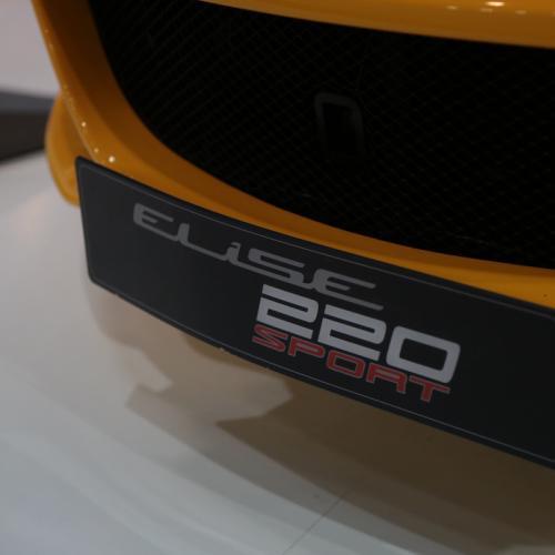 Lotus Elise 220 Sport | nos photos depuis le Mondial de l'Auto 2018