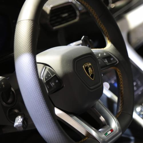 Lamborghini Urus   nos photos depuis le Mondial de l'Auto 2018