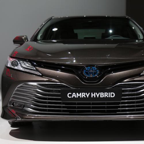 Toyota Camry Hybrid | nos photos depuis le Mondial de l'Auto 2018