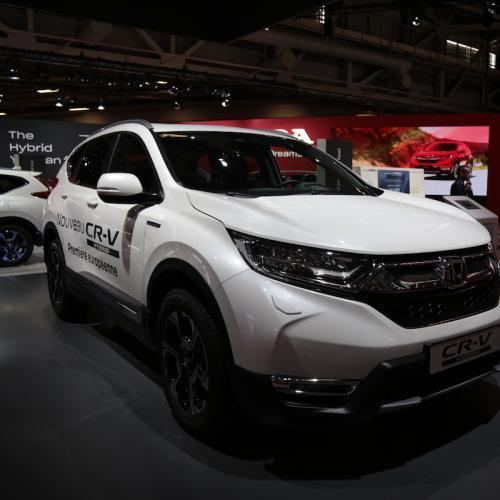 Honda CR-V Hybrid | nos photos depuis le Mondial de l'Auto 2018