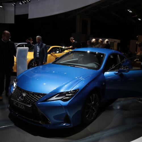 Lexus RC 300h | nos photos depuis le Mondial de l'Auto 2018