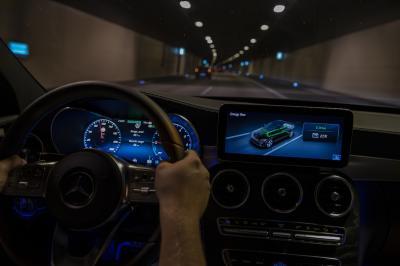 Mercedes Classe C Hybride Diesel   les photos officielles