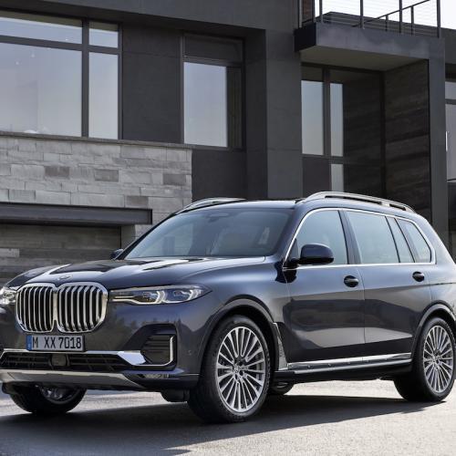BMW X7 | les photos officielles du SAV