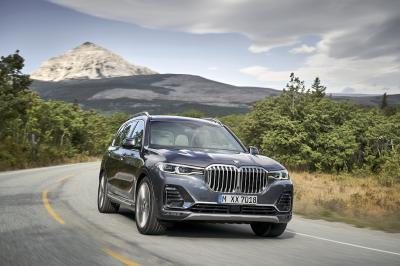 BMW X7 | les photos officielles du SAV