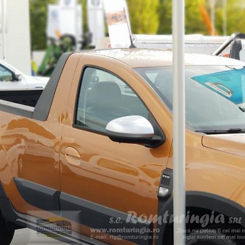 Dacia Duster Pick-up | les photos officielles du pick-up par Romturingia