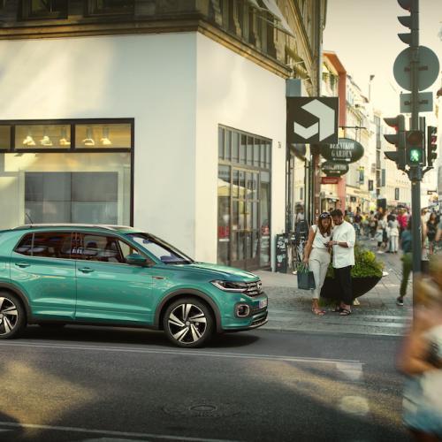 Volkswagen T-Cross   les photos officielles du SUV compact