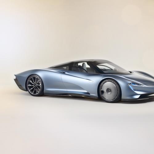 McLaren Speedtail   les photos officielles