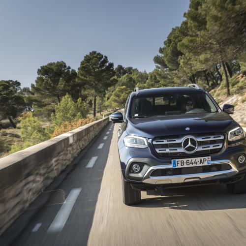 Mercedes Classe X350d (essai - 2018)