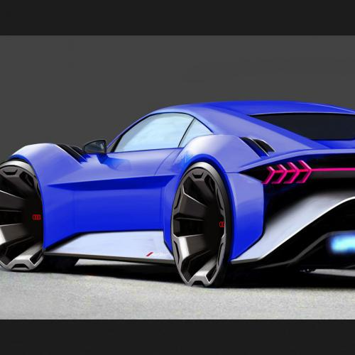 Audi RSQ e-tron (Spies in Disguise)