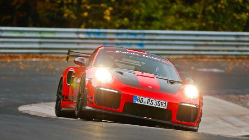 Porsche 911 GT2 RS MR | Les photos officielles