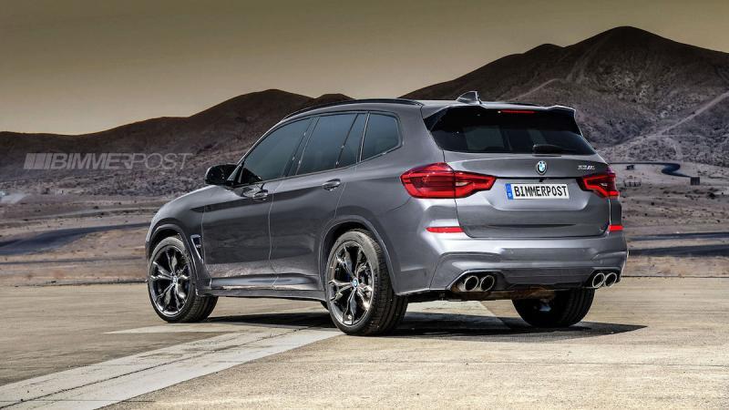 BMW X3 | Les photos de la version M imaginée par Bimmer Post