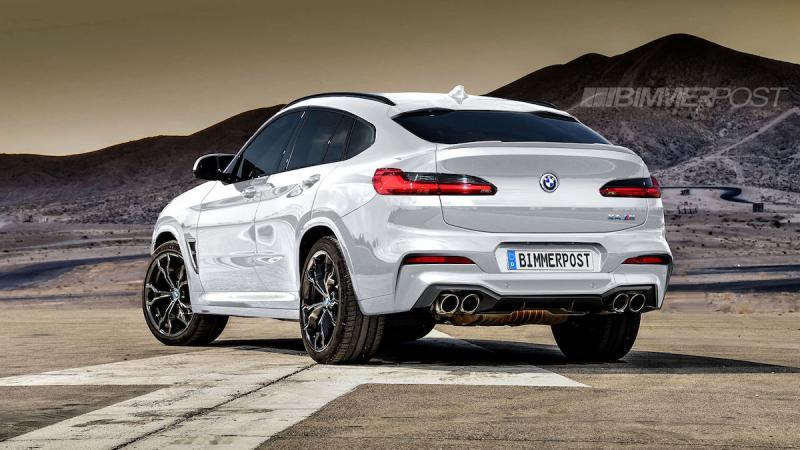 BMW X4 | Les photos de la version M imaginée par Bimmer Post