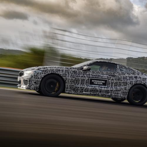 BMW M8 (2019) | les photos officielles du prototype