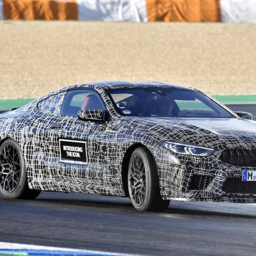 BMW M8 (2019)   les photos officielles du prototype