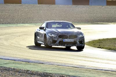 BMW M8 (2019) | les photos officielles du prototype
