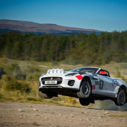 Jaguar F-Type Roadster | les photos officielles de la version Rallye