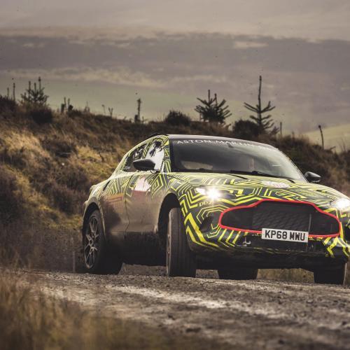 Aston Martin DBX prototype | Les photos officielles