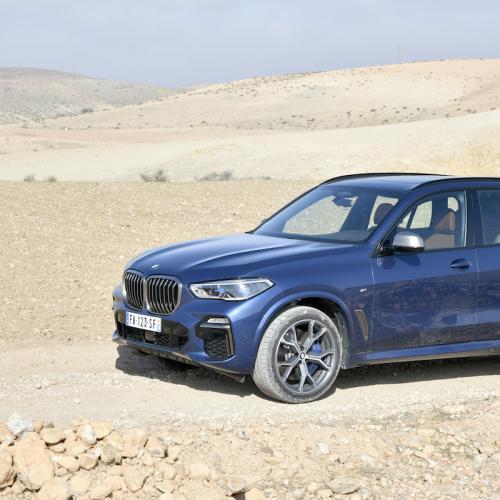 BMW X5 M50d | les photos officielles de l'essai