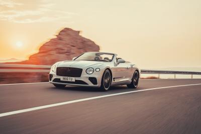 Bentley Continental GT Convertible | les photos officielles de la version 2019