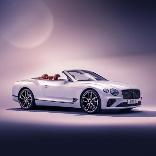 Bentley Continental GT Convertible | les photos officielles de la version 2019
