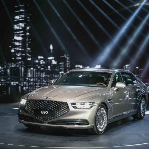 Genesis G90 | les photos officielles de la berline
