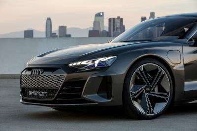 Audi e-tron GT | les photos officielles du concept