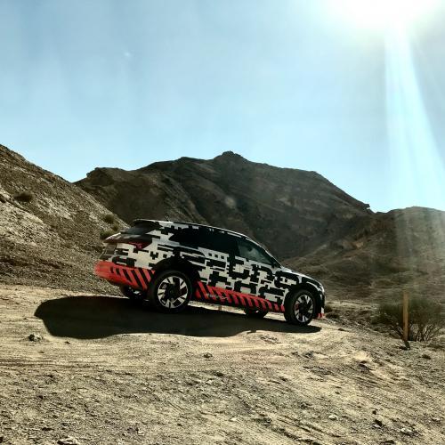 Audi e-tron Quattro | nos photos de l'essai à Abu Dhabi