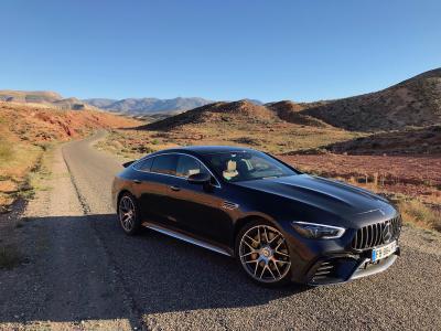 Mercedes-AMG GT 63 S | nos photos de l'essai depuis le Maroc